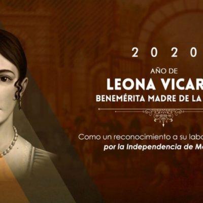 Aprueban que 2020 sea el 'Año de Leona Vicario, Benemérita Madre de la Patria'
