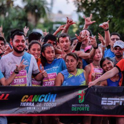 Más de 5 mil deportistas participan en la edición 35 del Maratón Internacional de Cancún