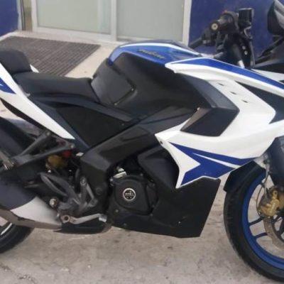 Detienen a sujeto y recuperan motocicleta con reporte de robo en la Región 98 de Cancún