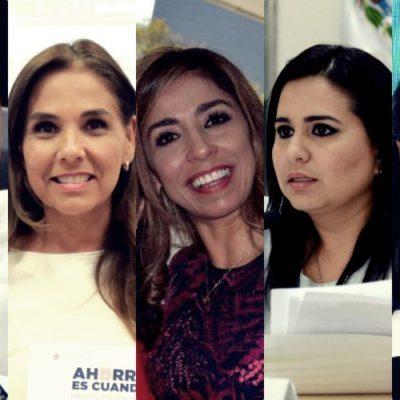 Rompeolas   Destacan mujeres en Morena, PAN y PVEM en la lista de aspirantes a la gubernatura