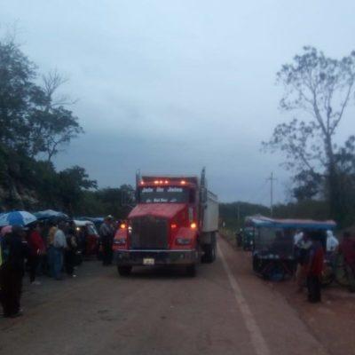 Anticipa CCE que interpondrán denuncia ante FGR contra personas que bloquean carretera en el municipio de JMM en caso de no levantar el movimiento antes que termine este viernes