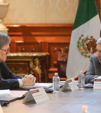 REITERA AMLO A FISCAL DE EU: México requiere cooperación sin intervención