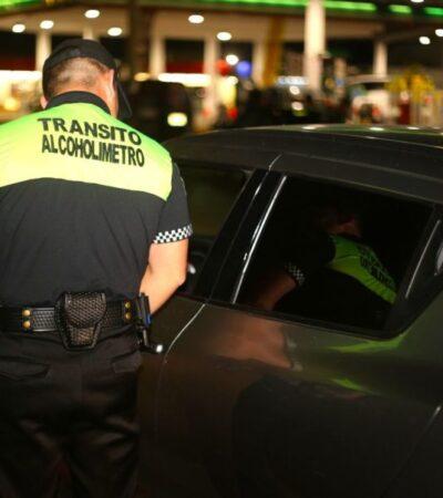 Pagarán automovilistas que conduzcan en estado de ebriedad entre 13 y 17 mil pesos por multa, servicio de grúa y estancia en el corralón, en Cancún