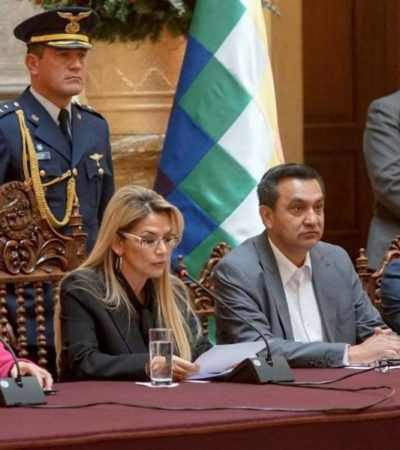 Expulsa Bolivia a embajadora de México; da plazo de 72 horas para abandonar La Paz