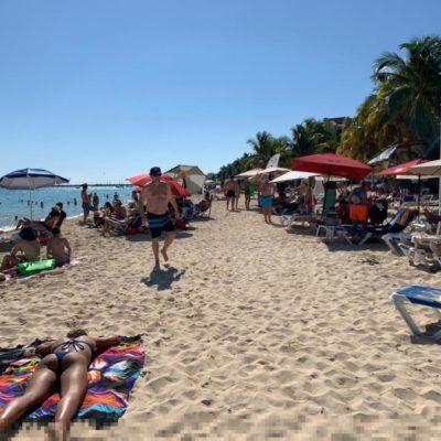 Servicios turísticos reportan ocupación del 90 por ciento en Playa del Carmen