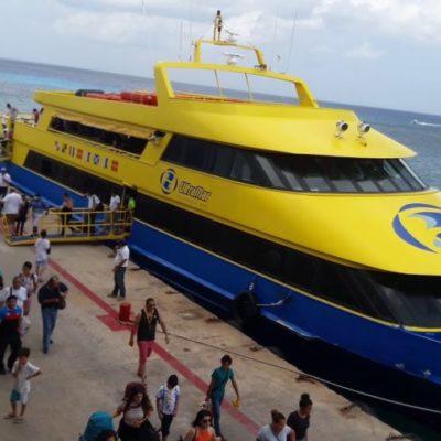 Anuncia Pedro Joaquín mesa de trabajo para intentar revertir alza de tarifas del ferry en Cozumel