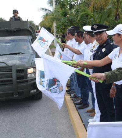 Laura Fernández da banderazo al operativo vacacional 'Guadalupe-Reyes' en Puerto Morelos