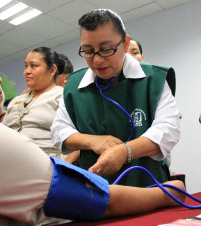 Organizan brigadas gratuitas de salud en Puerto Morelos