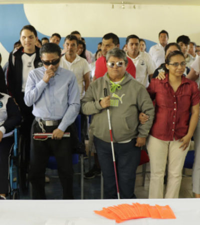 Se atendieron a más de 4 mil 800 personas con discapacidad durante 2019 en Cozumel