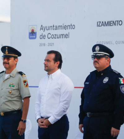 Llama Pedro Joquín a trabajar para construir un Cozumel próspero y seguro