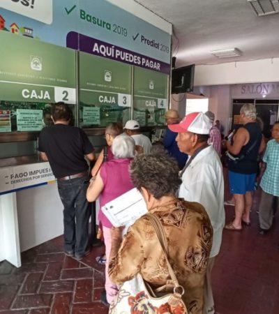 Implementan campaña de descuentos del 10 y 20 por ciento en el impuesto predial y recolección de basura en Cozumel