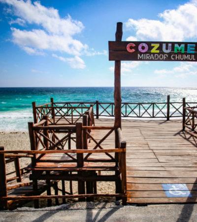 Rehabilitan infraestructura de los miradores turísticos de la zona oriente de Cozumel