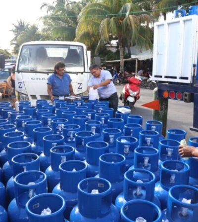 Realizará Ayuntamiento de Isla Mujeres canje gratuito de cilindros de gas el próximo 30 de enero