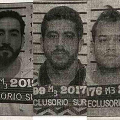 Se fugan tres reos del Reclusorio Sur; son miembros del cartel de Sinaloa que serían extraditados a EU