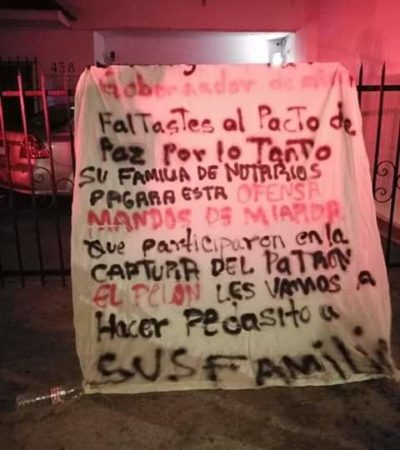 Rechaza gobernador de Tabasco supuesto pacto de paz con líder criminal 'El Pelón de Playas'
