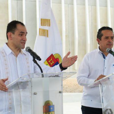 DA HACIENDA RESPALDO A 'MANDO ÚNICO': Tras recorrido con Arturo Herrera por el C5, asegura Gobernador que disminuyeron 15% los homicidios en QR y 28% en Cancún