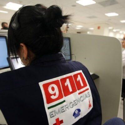Más de 2 millones de llamadas de emergencia en la Península de Yucatán fueron falsas en 2019