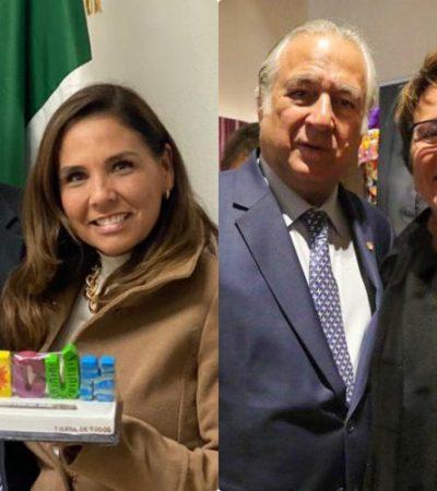 LE LLEVAN LA CONTRA A AMLO Y ALCALDESAS MORENISTAS VIAJAN A MADRID: 'Mara' Lezama y Laura Beristain acuden a la Fitur de España