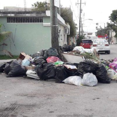 Renuncias de trabajadores de PASA generan atrasos en la recolección de basura en Cozumel