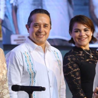"""""""PUERTO MORELOS YA ESTÁ EN LA HISTORIA DE QUINTANA ROO"""": Acude Gobernador de Quintana Roo a la conmemoración del cuarto aniversario de la creación del municipio"""