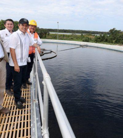 Se invierten en Chetumal más de 280 millones pesos para mejorar las redes de agua potable y drenaje