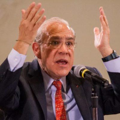 T-MEC no resolverá los problemas de México advierte José Ángel Gurría, secretario general de la OCDE