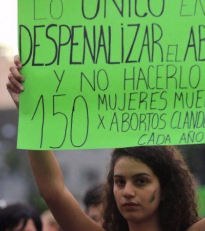Circula 'borrador' del Código Penal Nacional que despenaliza el delito de aborto