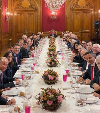 OMITE AMLO HABLAR DEL INSABI Y CONAGO POSTERGA DEBATE: Tras comer pejelagarto con el Presidente, Gobernadores dicen que no hubo oportunidad de plantear el tema del polémico Instituto de Salud para el Bienestar