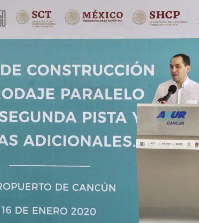 Reconoce secretario de Hacienda que QR es punta de lanza en el crecimiento económico del país