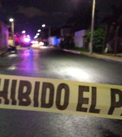 Matan a un  joven a balazos en la Región 227 de Cancún