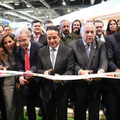 Se concretan más de 10 mil nuevos asientos en vuelos de Madrid-Cancún y una nueva ruta Madrid-Cozumel en la FITUR 2020