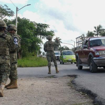 Rotan a cien elementos de la Guardia Nacional en Chetumal