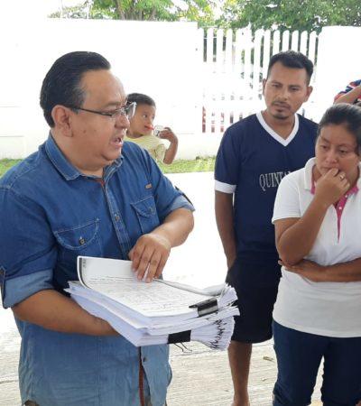CONFLICTO EN EL SUR DE QR: Desplazados de Maya Balam interponen denuncia ante la Fiscalía contra ex delegado y otros