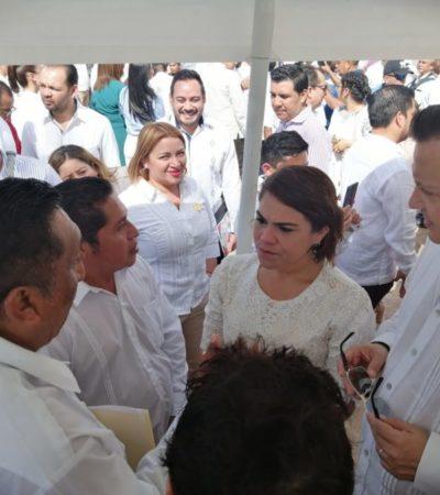 Advierte Reyna Durán que no permitirán presiones y se escucharán a todas las partes para resolver conflicto al interior del Gran Consejo Maya
