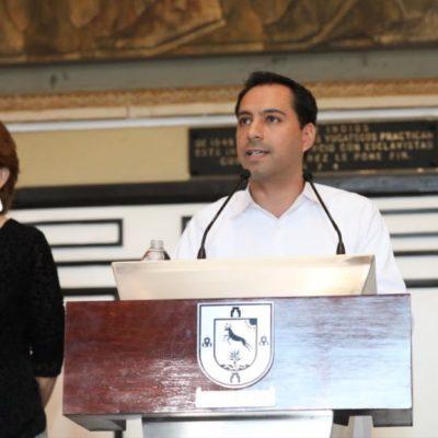 No cancelarán yucatecos megamarcha por aumento de impuestosdurante el primer informe de Mauricio Vila