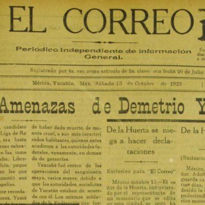 Estampas del socialismo en Yucatán: el hombre de Tahdzibichén, Demetrio Yamá | Por Gilberto Avilez Tax