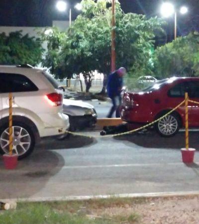 SE CAYÓ DE LA GUARNICIÓN… Y MURIÓ: Hallan cuerpo sin vida en el estacionamiento del supermercado Soriana de la avenida Tulum en Cancún
