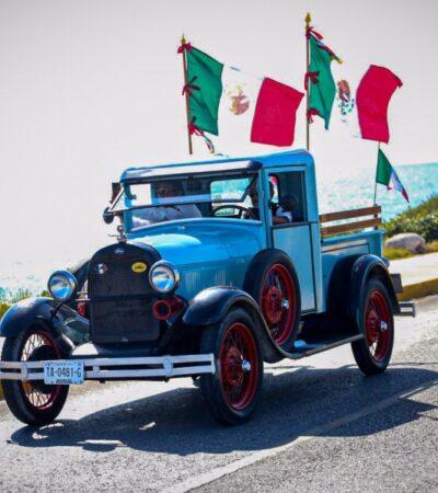 """En Isla Mujeres culminará el recorrido de autos clásicos del """"Rally Maya 2020"""""""
