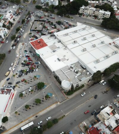 Molesta a usuarios nueva reducción de cajones de estacionamiento en Multiplaza La Luna