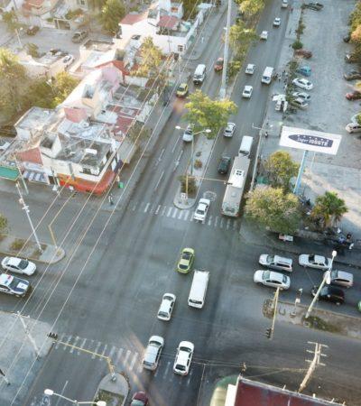 Convertirán en pares viales la Ruta 4, 5 y avenida Talleres para garantizar reordenamiento vial en Cancún
