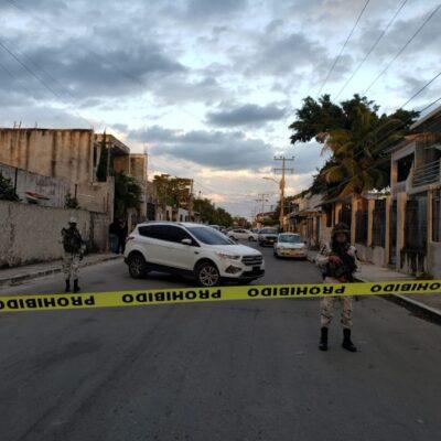 PRELIMINAR | Guardia Nacional y policías ministeriales catean domicilio en la Región 100, por presunta venta de droga