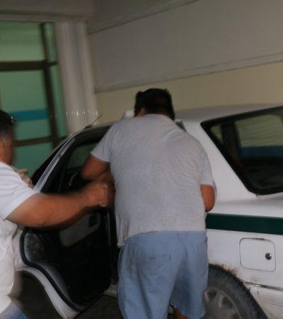 Grave trabajador de la construcción baleado en Cancún