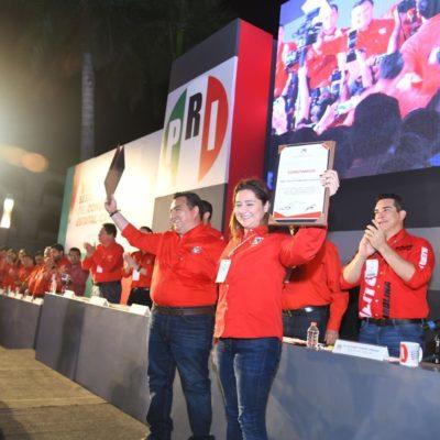 Consuma Alito imposición de líderes priistas en Campeche y arremete contra gobierno de AMLO