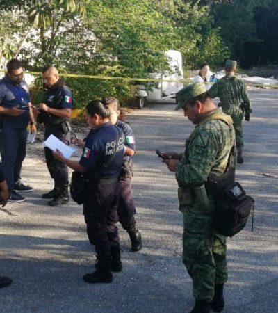 Rescatan soldados a mujer que era violada por mototaxista en Villas del Sol en Playa del Carmen