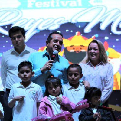 Presencian 5 mil personas el Festival de los Reyes Magos en Cancún