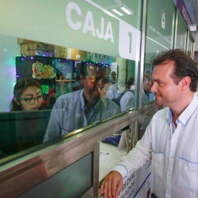 Con el nuevo año, anuncia Pedro Joaquín jornada de descuentos en Impuesto Predial y basura 2020