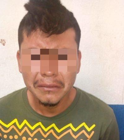 Capturan a presunto sicario en Playa, luego de derrapar en moto