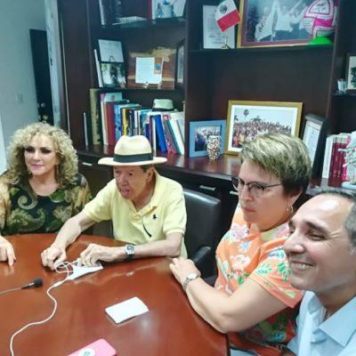 """""""PANISTAS SON POCO INTELIGENTES PARA GOBERNAR"""": Critica Muñoz Ledo a legisladores de Acción Nacional y los acusa de tener brotes de violencia verbal, durante visita a Playa del Carmen"""