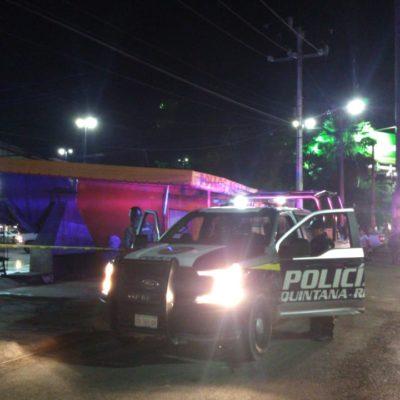 PRIMER ATAQUE A BALAZOS DEL 2020 EN CANCÚN: Saldo de un ejecutado en lavadero de autos en la SM 237