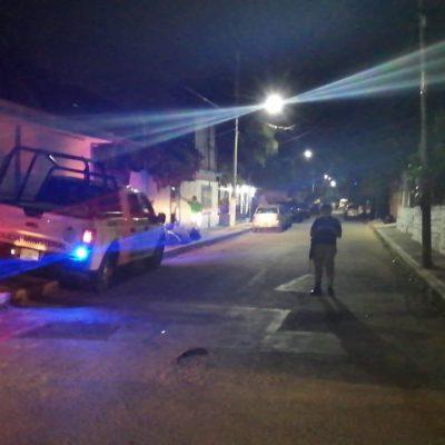 Movilización policiaca por reporte de disparos en la SM 75 de Cancún